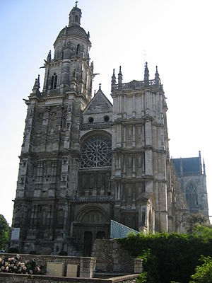 Évreux Cathedral - Évreux Cathedral, west front