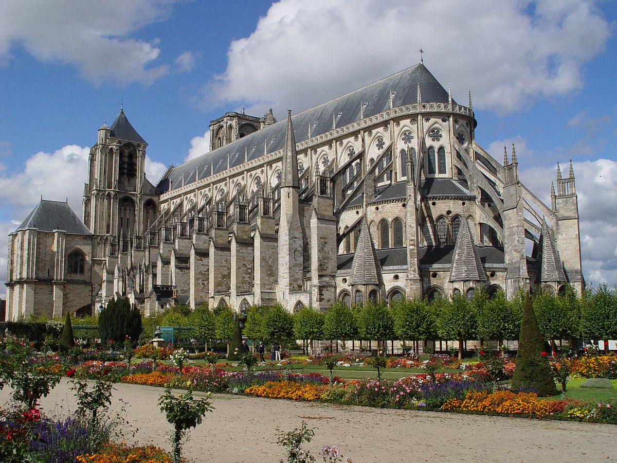 Catedral de bourges wikipedia la enciclopedia libre - Amenagement jardin d saint etienne ...