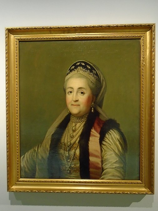 Catherine II in Russian dress by unknown artist 2020-12-01.jpg
