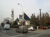 Catholic church in Skopje, Macedonia.JPG