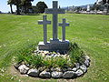 Catholics relocated from Mt. Calvary Cemetery memorial, Holy Cross, Colma 1.JPG