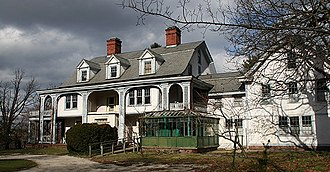 "William Cullen Bryant - ""Cedarmere"", William Cullen Bryant's estate in Roslyn, NY"