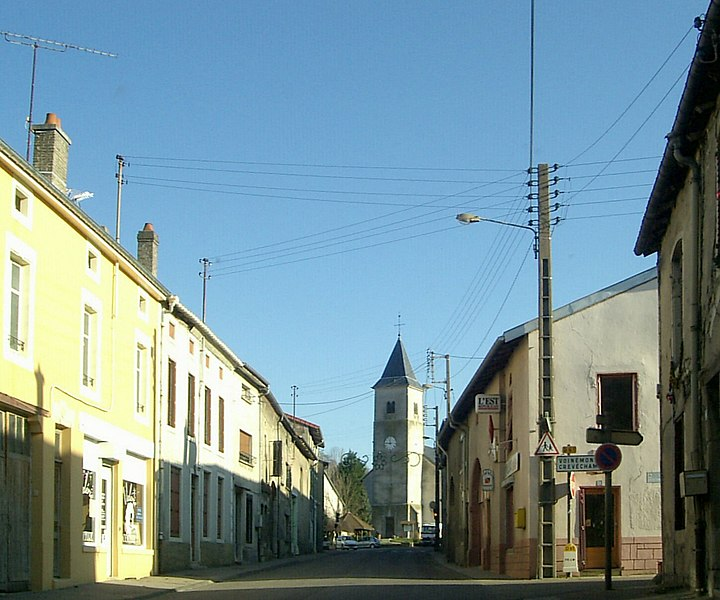 Ceintrey, rue de Nancy