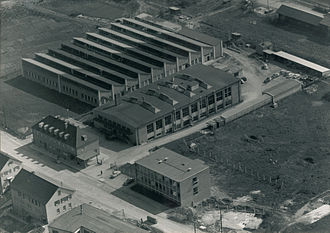 CeramTec - The Plochingen site in 1959