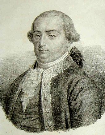 Cesare Beccaria, father of classical criminal theory (1738-1794) Cesare Beccaria in Dei delitti crop.jpg