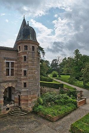 Caumont castle and its park