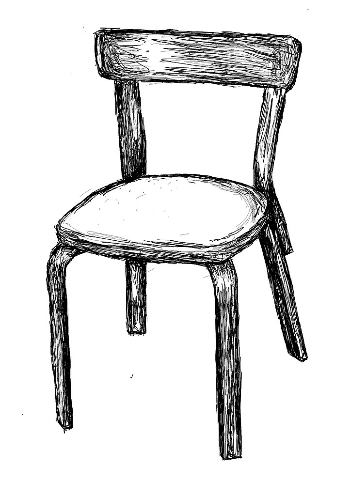 File Chair Black And White Wikimedia Commons