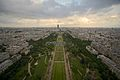 Champ-de-Mars from the Eiffel Tower, Paris 23 June 2013.jpg