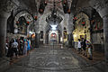 Chapel of Saint Helena in the lower level of The Church of the Holy Sepulchre (10806198943).jpg