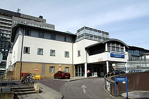 Charing Cross Hospital - Mental Health Unit building