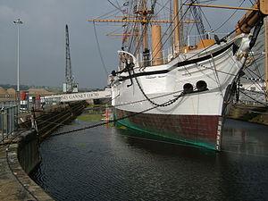 Chatham Historic Dockyard - HMS Gannet.