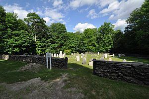 Gate Cemetery - Image: Chesterfield MA Gate Cemetery