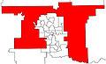 ChestermereRockyView electoral district 2010.jpg