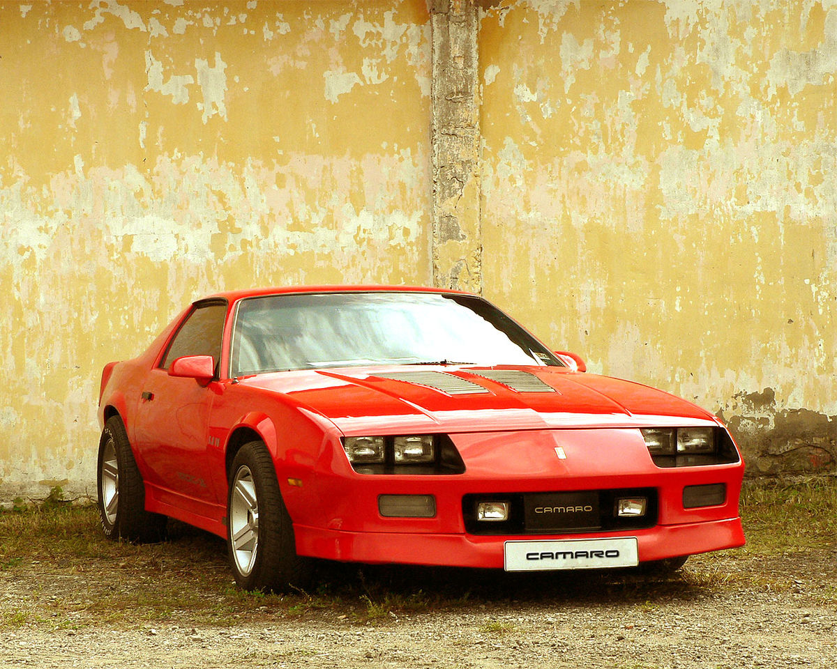 List Of Synonyms And Antonyms Of The Word Camaro Iroc Z