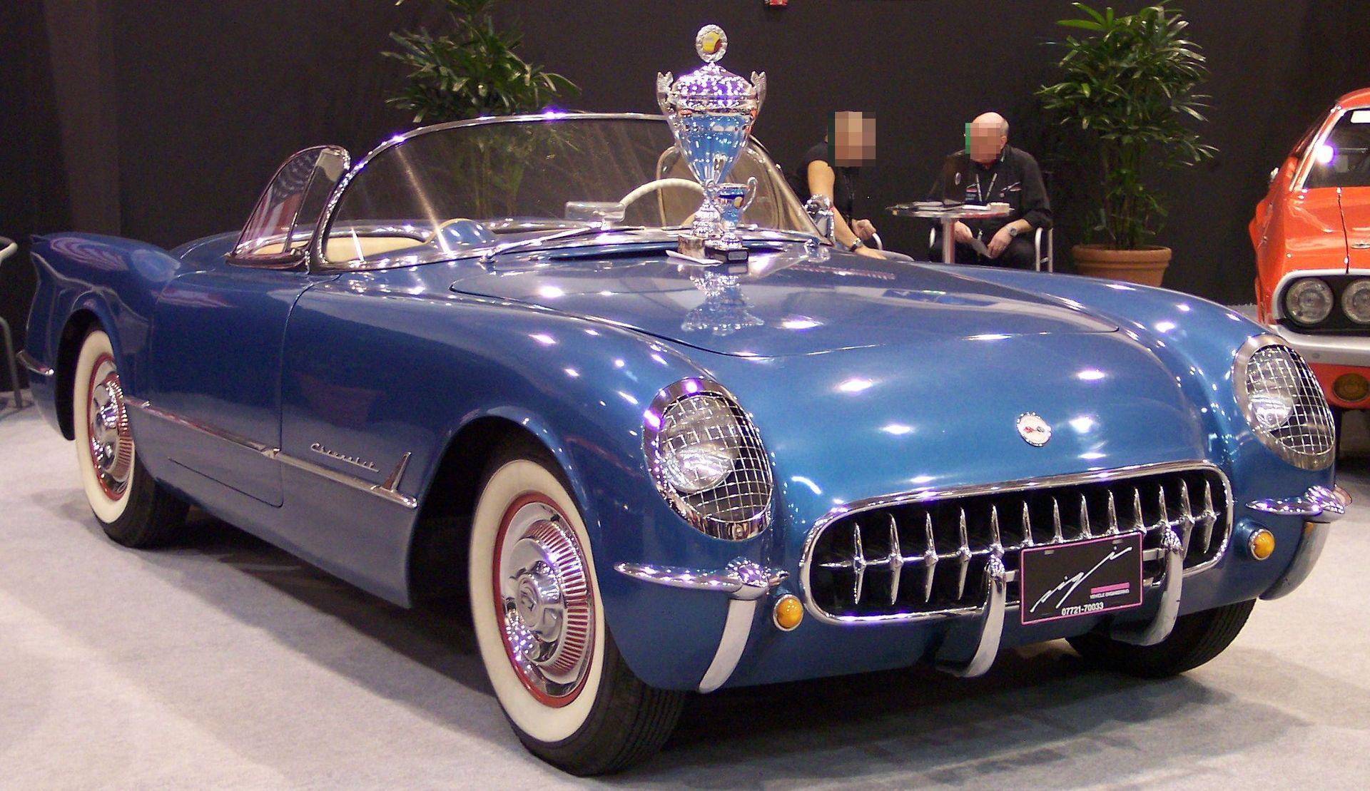 Corvette C1 1953 >> Chevrolet Corvette (C1) - Wikipedia