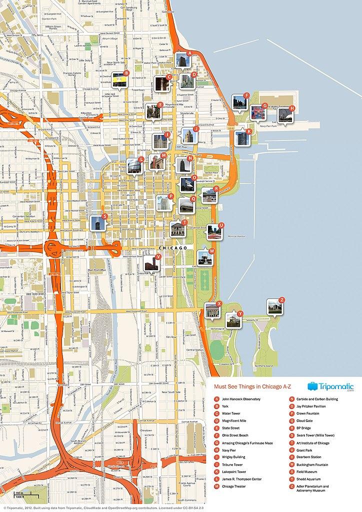South Loop Michigan Avenue Restaurants