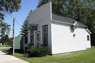 National Register of Historic Places listings in Emmet County, Michigan - Image: Chief Andrew J Blackbird House Harbor Springs Michigan 2011