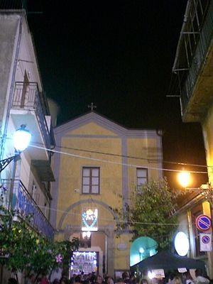 Castelcivita - Image: Chiesa di S. Cono Castelcivita esterno
