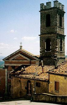 La chiesa di San Leonardo a Manciano
