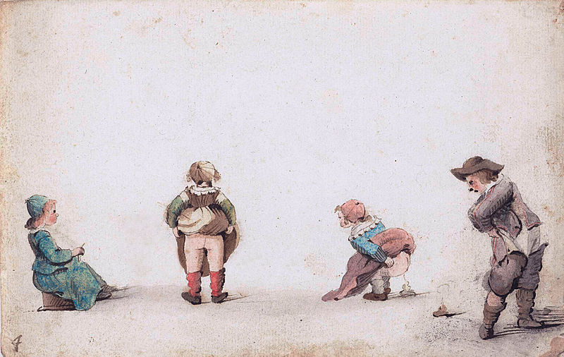 File:Children relieve themselves, by Gesina ter Borch.jpg