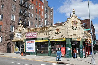 Woodside, Queens - Former Childs Restaurant branch at 60th Street and Queens Boulevard in Woodside