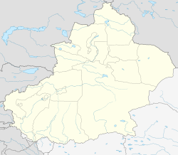 Korla is located in Xinjiang