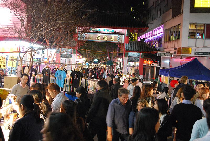 File:Chinatown Night Market, Sydney.jpg