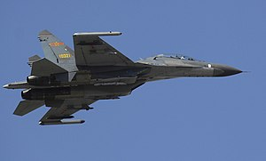 People's Liberation Army Air Force - A PLAAF J-11 multi-role fighter