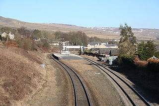 Chinley railway station Railway station in Derbyshire, England
