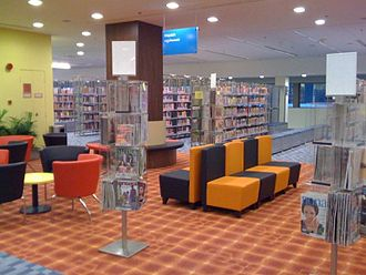 Choa Chu Kang Public Library - Reading area