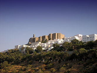 Patmos - Chora and the Castle of Patmos