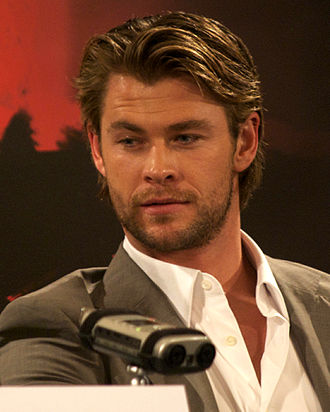 Thor (film) - Hemsworth promoting the film in London in April 2011.