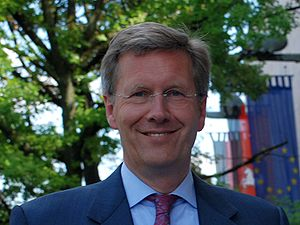 Prime Minister of Lower Saxony - Christian Wulff was Prime Minister of Lower Saxony (2003-2010) before being elected President of Germany