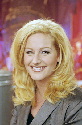 Christine van der Horst in Vegas nights in 1998.