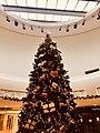 Christmas tree at St David's Centre, Cardiff, November 2020.jpg