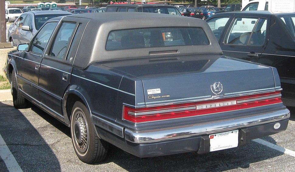 Chrysler Imperial rear