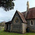 Church of the Holy Trinity, East Grimstead, Wiltshire, England, from NW.jpg