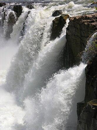 Gouina Falls - Image: Chutes Gouina 4
