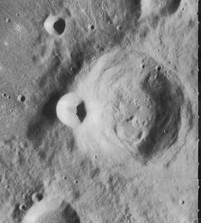 Cichus (crater) impact crater