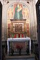 Cimitero dall'antella, cappella barocchi, affreschi di g. chini (1910) e rilievi in gres della manifattura chini 00.JPG
