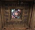 Cimitero dall'antella, cappella barocchi, soffitto con vetrata della manifattura chini 01.JPG