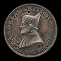 Circle of Camelio (Vittore Gambello), Andrea Gritti, 1455-1538, Doge of Venice 1523 (obverse), probably 1538, NGA 44592.jpg