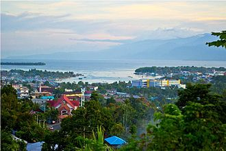 West Papua (province) - Image: City of Manokwari