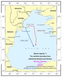 Maritime Delimitation in the Black Sea case