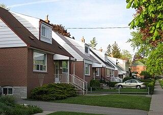 Clairlea Neighbourhood in Toronto, Ontario, Canada