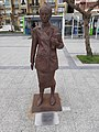 Clara Campoamor Rodriguez iron sculpture by Dora Salazar - Statue of Clara Campoamor Rodriguez photo1.jpg