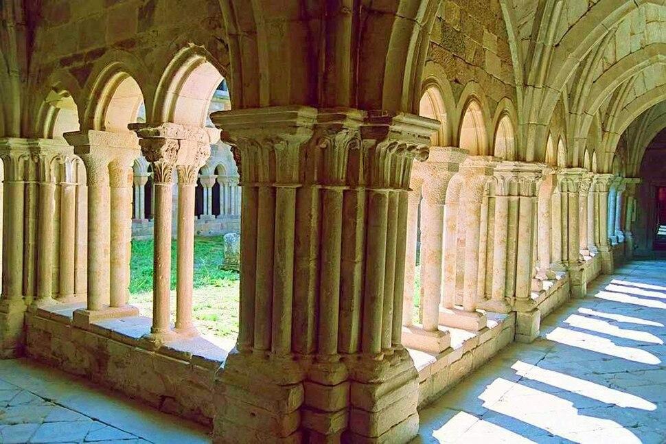 Claustro del monasterio de Aguilar