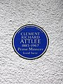 Clement Richard Attlee 1883-1967 Prime Minister lived here.JPG
