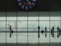 Clock and window at Zhengzhou east railway station.png