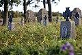 Cmentarz wojenny nr 118 – Staszkówka – widok na nagrobki fot. nr 3 – stan na wrzesień 2019.jpg